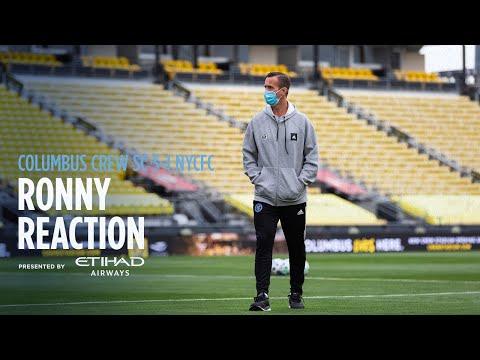 Ronny Reaction   Columbus Crew 3-1 NYCFC