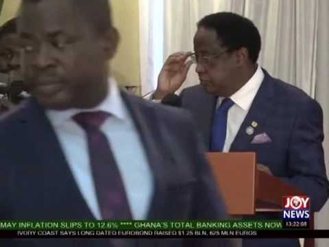 Swearing-In Of New Chief Justice - Joy News (19-6-17)