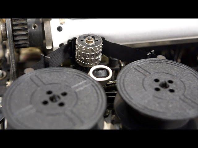 Teletype ASR 33 Part 6: Print Head Mechanism