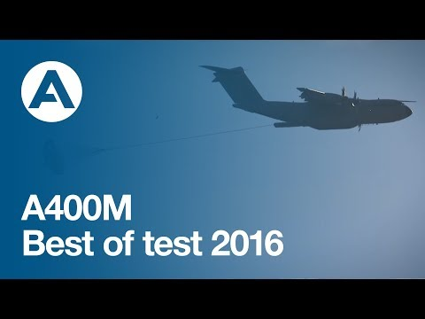 AIRBUS A400M : Best of Test 2016