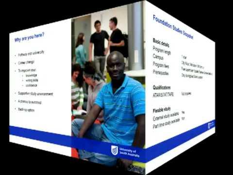 Foundation Studies - Open Day 2012 - University of South Australia