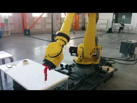 Fast hardcoded test of high-precision Fanuc manipulator