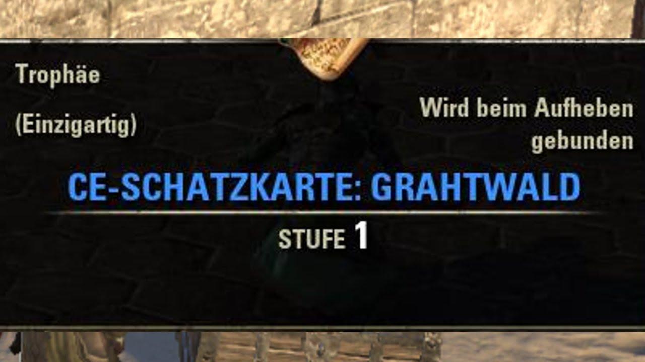 TESO] [Schatzkarten] CE-Schatzkarte: Grahtwald | Grahtwood CE ...