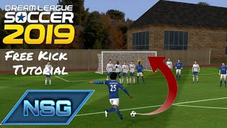 How To Score A Free Kick on Dream League Soccer 19