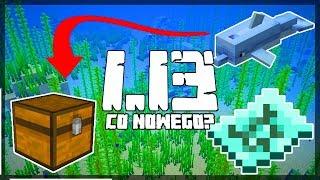 Minecraft 1.13: [Snapshot 18w21a] Co Nowego? Delfinie Skarby, Zbroja Delfina, Kolorowe Nazwy!