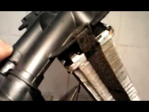 Как проверить герметичность радиатора печки
