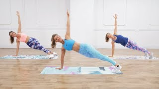 30-Minute, No-Equipment Toning and Calorie-Burning Workout From Anna Victoria