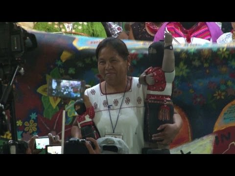 AFP news agency: Mexico's indigenous appoint female presidential candidate