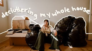 DECLUTTERING EVERYTHING I OWN // Extreme Organize & Declutter With Me