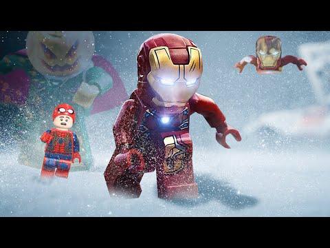LEGO Iron Man Vs Spider Man Assemble Giant ROBOTS