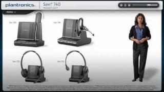 Lync Interactive Setup Guide using Plantronics Savi W740 wireless headsets, Amigo!