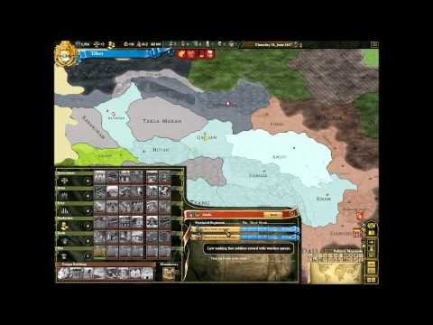 Lets Play Europas Universalis 3 Tibet (Huge Amount Of Land) Part 6