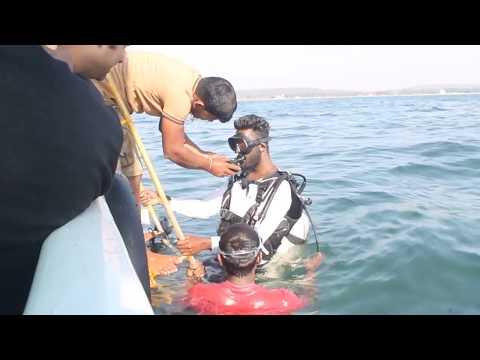 scuba diving in tarkarli 25/02/2018.