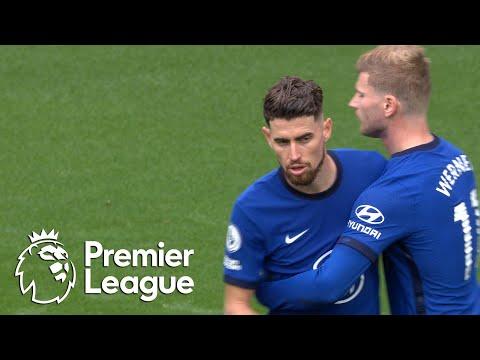 Jorginho's second penalty makes it 4-0 to Chelsea v. Crystal Palace | Premier League | NBC Sports