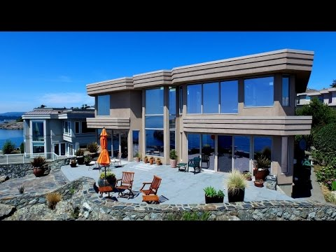Contemporary home design oceanfront house with amazing for Oceanfront house plans
