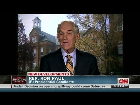 CNN Official Interview:  Ron Paul enters 2012 presidential r