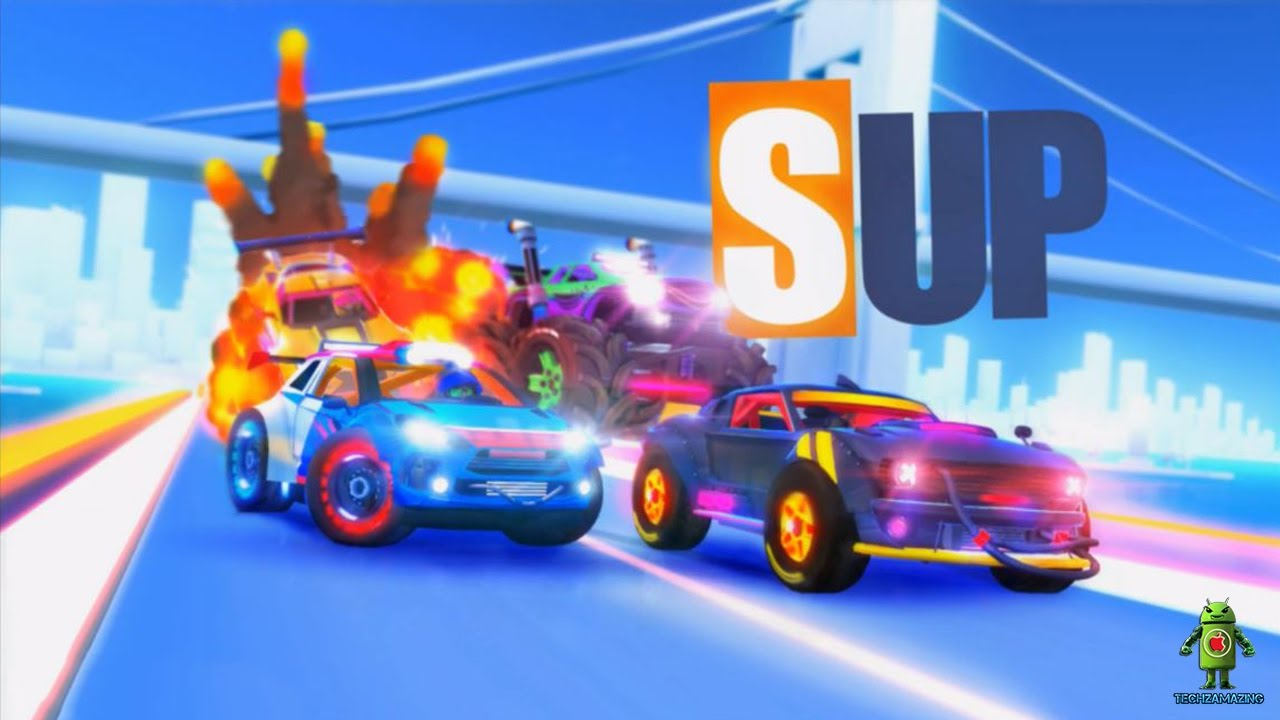 SUP Multiplayer Racing Gameplay (Android/iOS) Video Trailer - HD