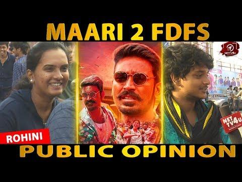 Maari-2 Public Review Dhanush | Sai Pallavi | Balaji Mohan