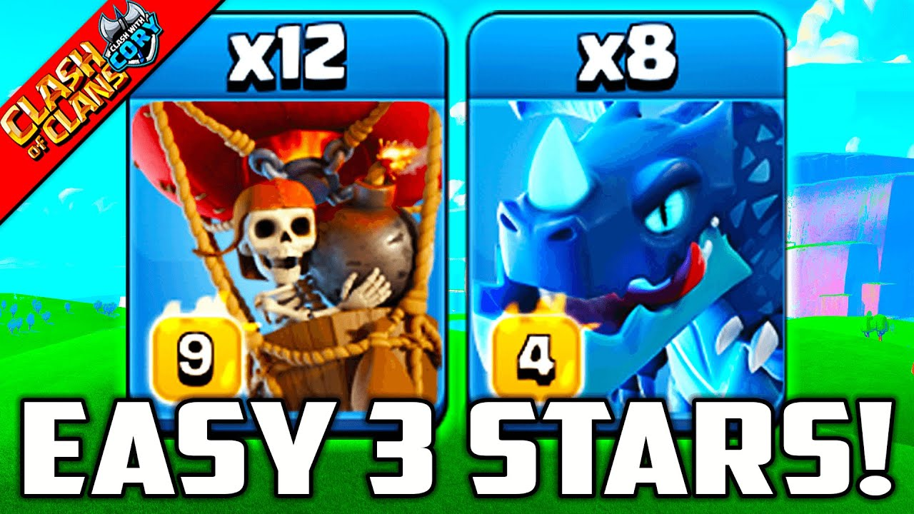 UNSTOPPABLE ELECTRO DRAGON ATTACK ! TH 13 War Strategy | Clash of Clans 2021