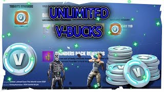 *GIVEAWAY* HOW TO GET UNLIMITED V-BUCKS FORTNITE BATTLE ROYALE | SAVE THE WORLD|