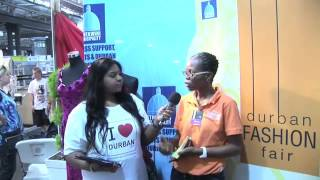 I LOVE DURBAN   Interview with Durban Fashion Fair, Decorex 2013 Thumbnail