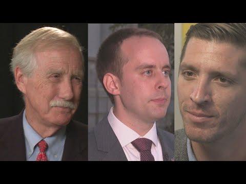 REPLAY | Maine US Senate Debate With Sen. Angus Kingfaces Eric Brakey And Zak Ringelstein