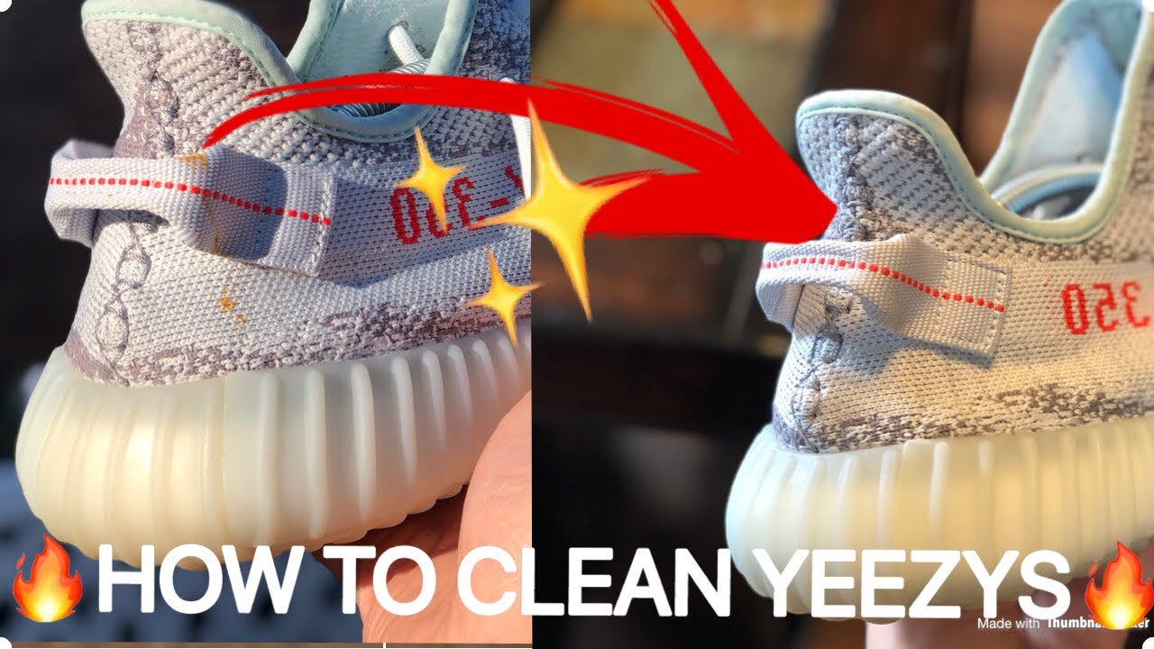 How To Remove Stains From Yeezys (How