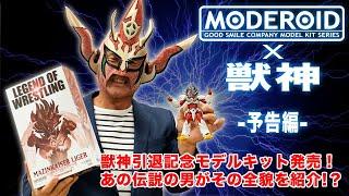 2020年1月、プロレス界の生ける伝説「獣神サンダー・ライガー」の引退を記念し、プラスチックモデル「MODEROID マジンカイザーライガ」がライガー...