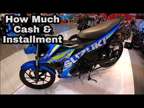 Suzuki motorcycle price in the Philippines 2019