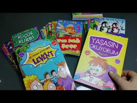 1. Sınıf Okuma Seti 50 Değer İçerikli Kitap