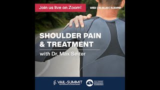 Shoulder Pain & Treatment Options with Dr. Seiter
