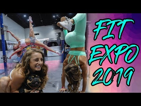 San Diego Fitness Expo | Meeting fans, Calisthenics, and Fun !!!