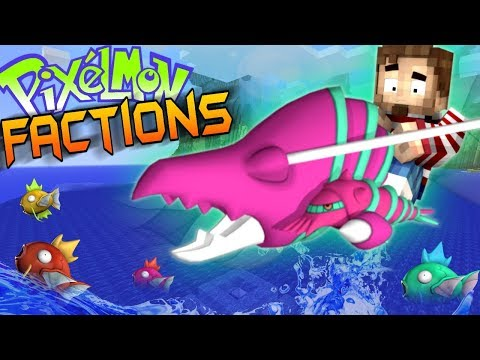 FLYING ON A LOBSTER! - Minecraft Pixelmon Factions #4 (Minec
