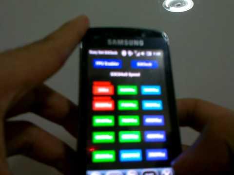Samsung Omnia Pro B7610: Test Sense 2.5.2016