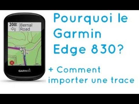 foto de GPS Garmin Edge 830: Pourquoi choisir ce gps? + Comment importer ...