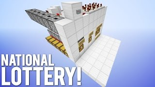 The National Lottery Machine in Minecraft!