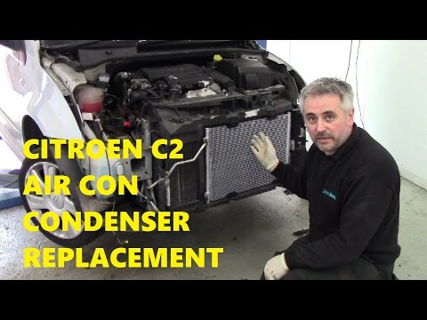 Citroen C2 Air Conditioning Condenser Replacement