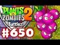 Battlez! Grapeshot! - Plants vs. Zombies 2 - Gameplay Walkthrough Part 650