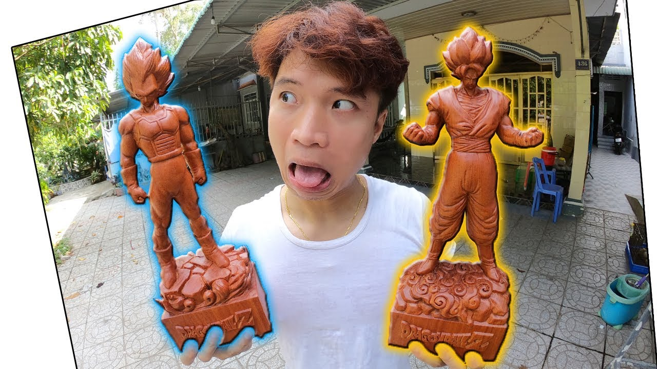 Tony Đập Hộp Hàng Hiếm Goku & Vegita Cực Đẹp – Tony Vlogs