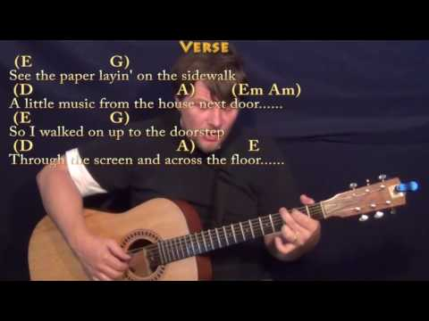 Summer Breeze (Seals & Croft) Fingerstyle Guitar Cover Lesson with Chords/Lyrics