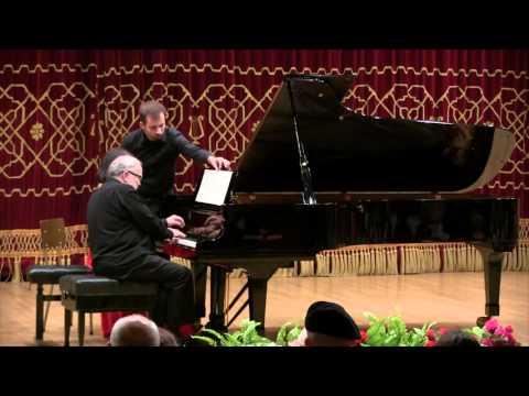 Bucarest - Jean-Claude Pennetier et Mara Dobresco  - Schubert : Rondo en La Majeur op.107