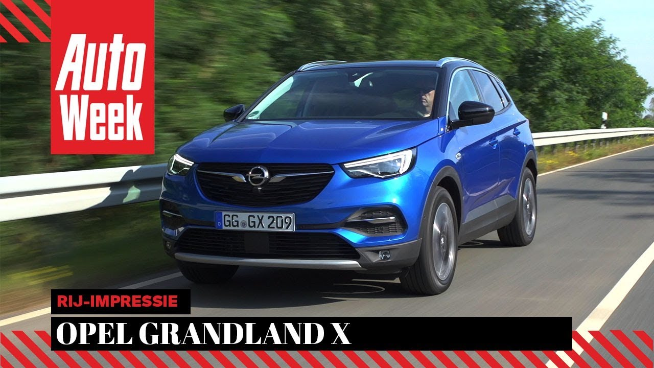 opel grandland x autoweek review youtube. Black Bedroom Furniture Sets. Home Design Ideas