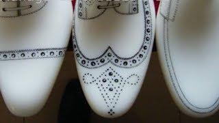 Делаем эскиз Медальона на носок обуви вручную