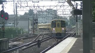 西武鉄道2057F+2405F 上り回送 萩山着発