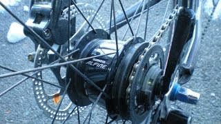 Shimano Alfine 8 speed, Why shifter adjustment is critical.