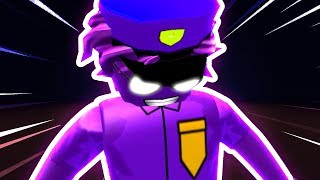 HOW TO BE A FNAF PURPLE GUY IN ROBLOXIAN HIGHSCHOOL!!