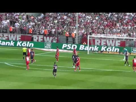 Lukas Podolski zurück in Köln - 1. FC Köln vs. Arsenal London [HD]