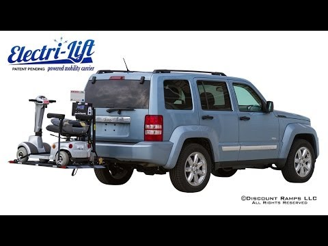 Electri-Lift Powered Mobility Carrier from Discount Ramps.com