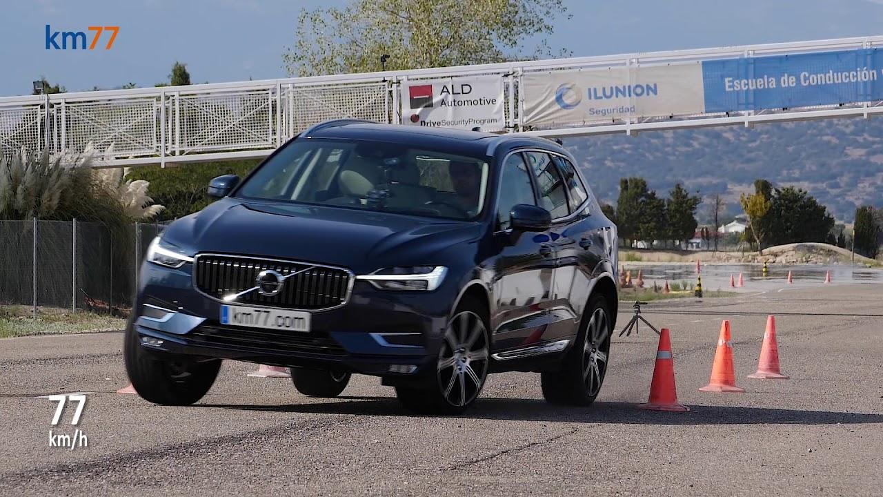 Volvo Xc60 2017 Maniobra De Esquiva Moose Test Y Eslalon Km77