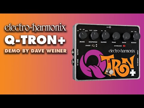 Q-Tron Plus - Demo by Dave Weiner - Envelope Filter with Effects Loop